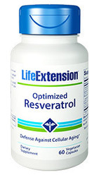 Optimized Resveratrol 60 vegetarian capsules