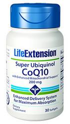 Super Ubiquinol CoQ10 with Enhanced Mitochondrial Support™ 200mg