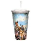 Artful Cool Cup - Horse Selfie