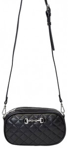 Black with cross strap
