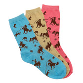 AWST Rodeo Time Crew Socks