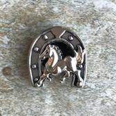 Horsehoe Lapel Pin / Tie Tack