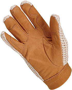 Palm of Crochet Glove