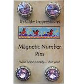 Violet Magnet Set