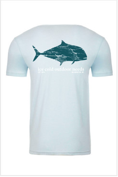 I.C.O.N. Pompano Short Sleeve T-Shirt Ice Blue