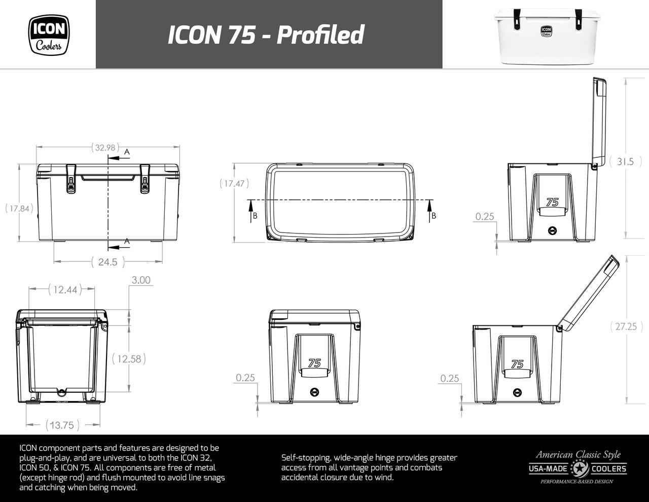 ICON 75 Profiled