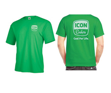 ICON Cool For Life Tee - Grass Green SS