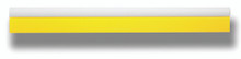 "GT145 – 18 1/2"" Yellow Turbo Squeegee"