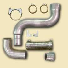 "Grand Rock Single Stack Installation Kit Universal S-Pipe Bed Kit for 4"" Stack with 4"" OD base (SPU-4SK)"