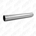 "MBRP Universal (not 6.4L Ford, Chevy LMM or 6.6L Dodge) Muffler Delete Pipe 4"" Inlet /Outlet 30"" Overall, ALZ"