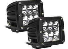 DUALLY D2 WHITE LED DRIVING BEAM (PAIR) RIG50231