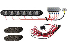 A-Series Rock Light Kit Cool White Lights with 6 Lights by Rigid Industries  RIG40025