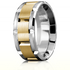 WB-9135 in White and Yellow Gold as style number WB-9167