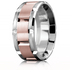 WB-9135 in White and Rose Gold as style number WB-9248