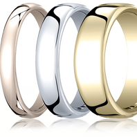 3.5mm 18kt Rose Gold |