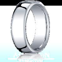 Palladium 7.5mm European Comfort-Fit ™ Ring
