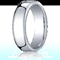 Palladium 6.5mm European Comfort-Fit ™ Ring