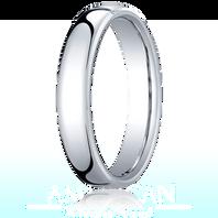 Palladium 4.5mm European Comfort-Fit ™ Ring