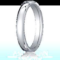 Palladium 3.5mm European Comfort-Fit ™ Ring
