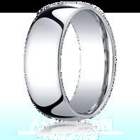 Palladium 8mm Traditional Comfort-Fit Ring