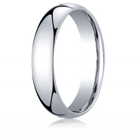 Palladium 5mm Traditional Comfort-Fit Ring