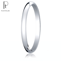 Platinum 2mm Traditional Comfort-Fit Ring