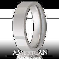 Jewelry Innovations Vitalium® Flat Top 6mm Comfort Fit Wedding Ring - V6P