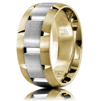 CARLEX WB-9463WY-S 9.5mm 18kt Yellow & White Gold