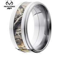 Lashbrook Realtree 9mm AP® Camo Titanium Grooved Edge Ring - 9FGE14-AP