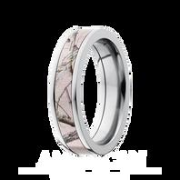 Lashbrook Realtree Pink AP® Camo 5mm Titanium Ring - 5F14-PINKRTAP