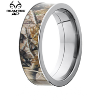 Lashbrook Realtree AP® Camo 7mm Titanium Ring - 7F16RTAP