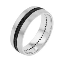 DORA Black Diamond 7mm Eternity Ring - #178B01