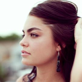 Teardrop Earrings - Dark