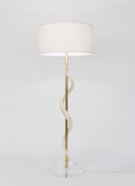 Kudu Core Floor Lamp on Acrylic