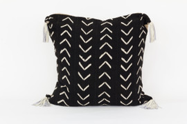 Bogolan Mud Cloth Floor Pillow