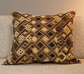 Shoowa Kuba Cloth Pillows
