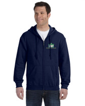 Monmouth Park Adult Zippered Hoodie