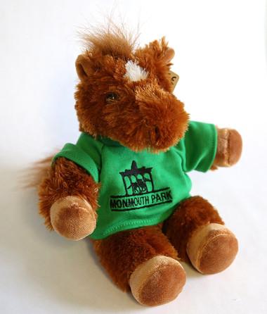 """Monmouth Park T-Shirt Plush Horse 7"""""""