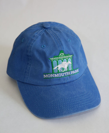 Monmouth Park Logo Cap in Carolina Blue