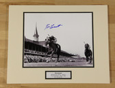 Secretariat Signed Kentucky Derby Twin Spires Photo