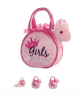 "Aurora Fancy Pals Purse 7"" -Girls Rule"