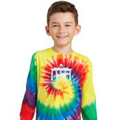Long Sleeved Youth Tie-Dye T-Shirt