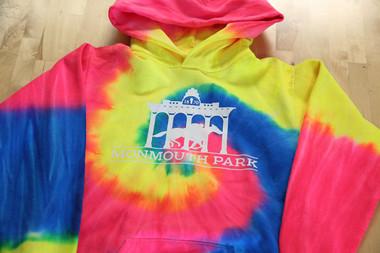 Youth Rainbow Tie-Dye Pullover Hoodie
