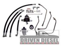6.0L Driven Diesel Regulated Return Fuel System Kit