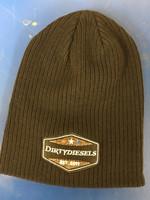 DirtyDiesels Beanies Patch Design Black