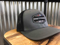 Dark Grey/ Black Snap Back Trucker Hat