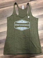 Women's Green Tank Tops