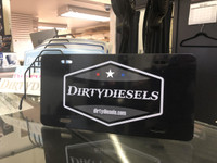 DirtyDiesels Front License Plate