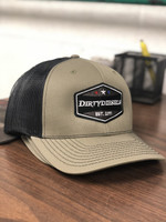 Dark Green / Black Trucker Snap Back