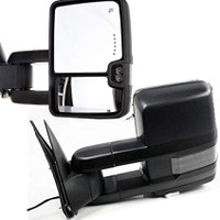 Chevy Mirror Black w/ Smoked Blinker 2015 Style